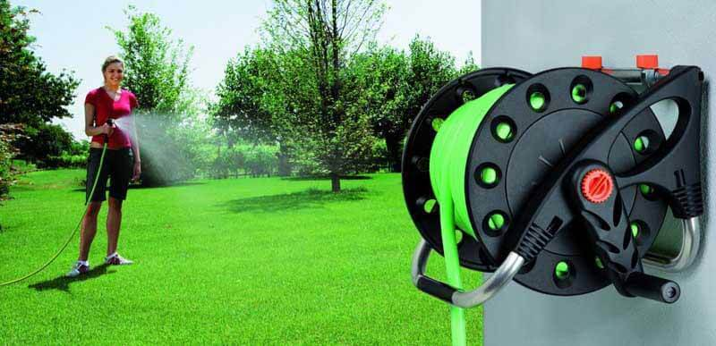 Why use a garden hose reel