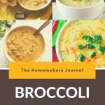 Easy Broccoli Cheese Soup Recipe