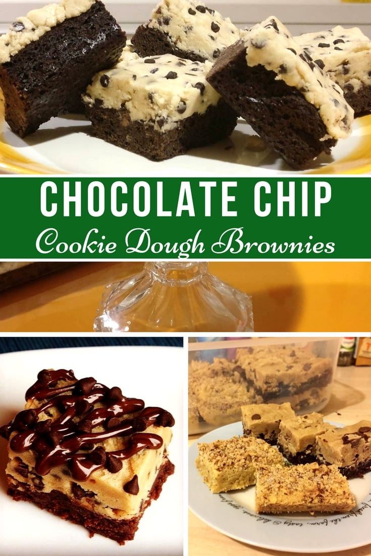 Chocolate Chip Cookie Dough Brownies Recipe