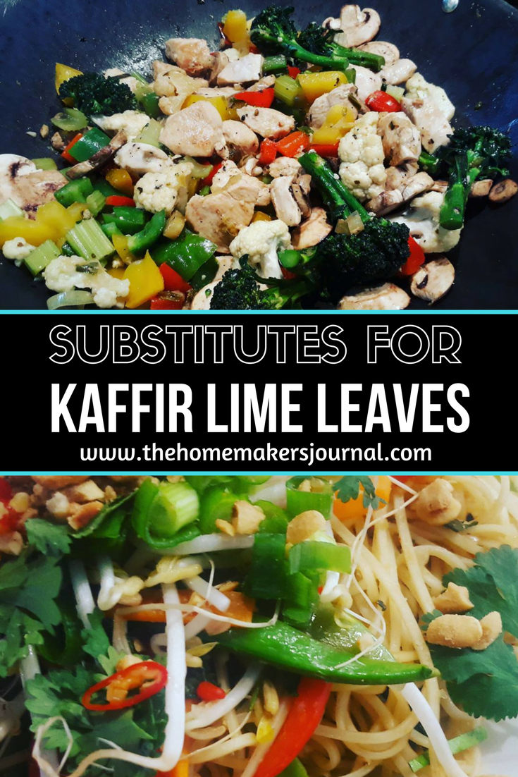What is Best Substitutes for Kaffir Lime Leaves