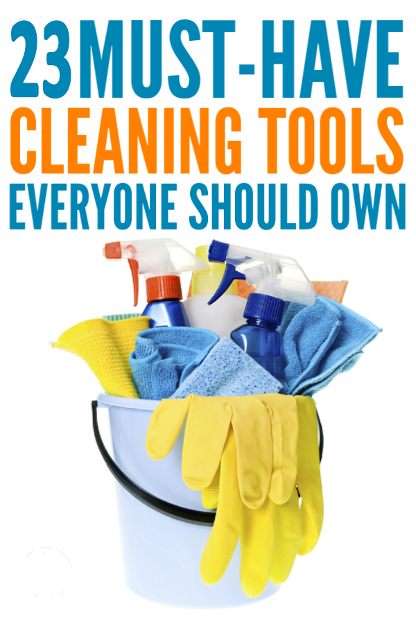 Must Have Cleaning Supplies for Home