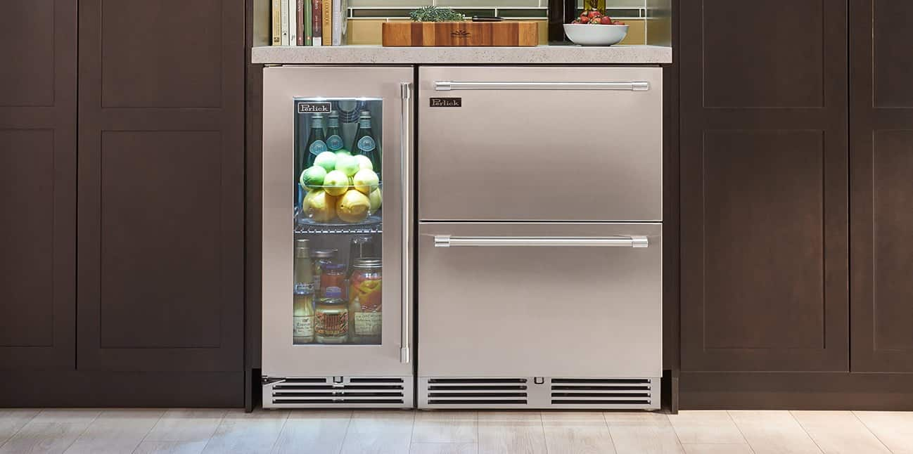 Types of Undercounter Refrigerators