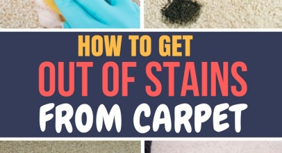 How to Get Out of Stains From Carpet