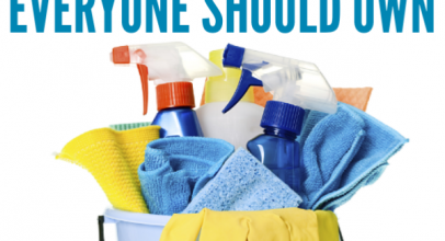 23 Must-Have Cleaning Supplies to Keep Your New Place Spotless